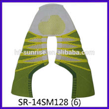 SR-14SM128-6 2014 New Style Fly knit shoe uppers/seamlessly cotton knitted uppers