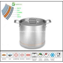 5 Ply Copper Core Soup Pot