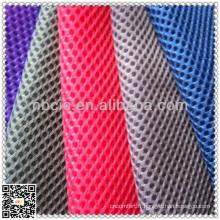 Mesh fabric for clothing metallic
