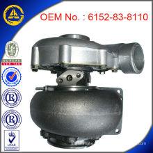 TA4532 Serie Turbolader für Komatsu PC400-5 Motor mit TS16949 Zertifikat (OEM Nr .: 6152-83-8110)