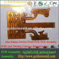Immersion Gold circuit controller board for temperature controller pcb assembly board
