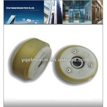 escalator step roller, escalator spare parts, escalator parts 76x25x6202