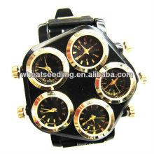 Relógio de luxo jóias com cinco relógio rosto JW-19