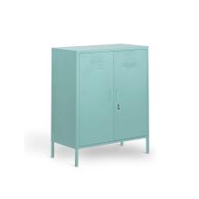 Стоящие средние 2-дверные офисные шкафы для хранения вещей