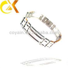 Chine bijoux de mode alibaba en acier inoxydable chaîne bracelet en argent