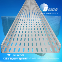 Besca Steel Hot Dip Galvanized Perforated Cable Tray Price Listed With Certificate
