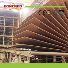 E1 Furniture Plain MDF Board en Bangladesh Market / HDF