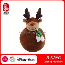 Giant Stuffed Elk Toys Presentes de Natal Presentes Decoração