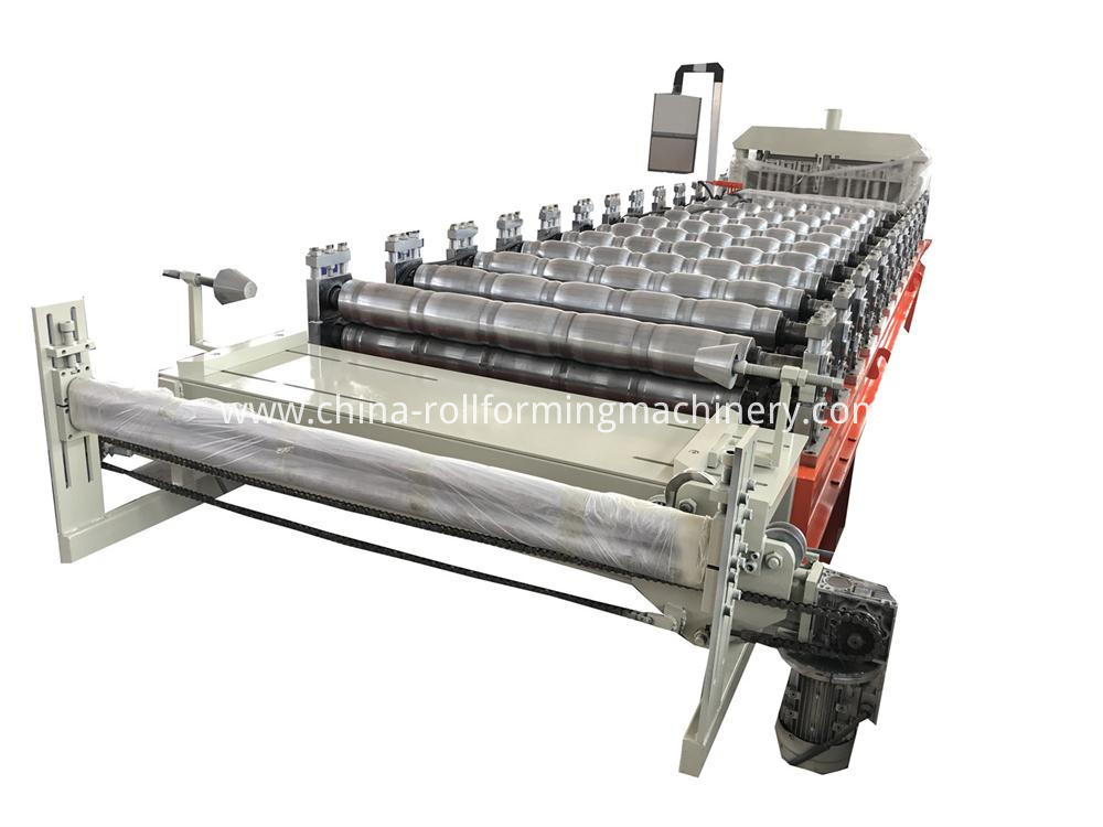 Eur Style Glazed Tile Roll Forming Machine