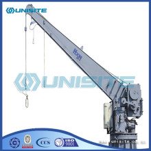 Marine steel welded davits crane