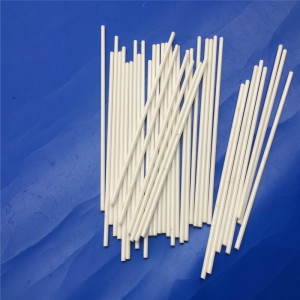 Industrial Zirconia Ceramic Rod / Ceramic Sticks Machining