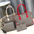 Fashion Crocodile Grain Wallet Shoulder HandBag