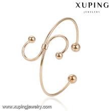 51931 En Gros conception spéciale S lettre forme dames perles bracelet gracieux or bijoux