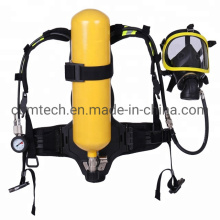 Portable Scba Positive Pressure Air Breathing Apparatus with 6L Steel Cylinders