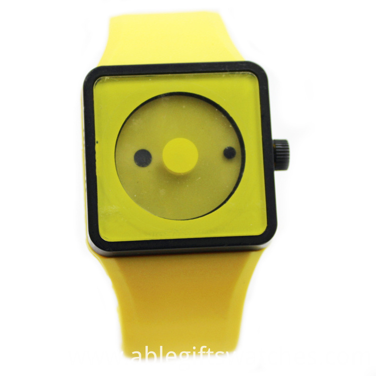 cheap silicone quartz watch