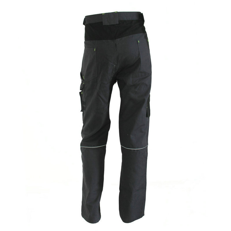 Multi functional pockets work pants T02B