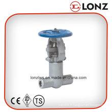 Vanne en acier forgé à joint de pression haute pression ANSI