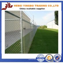 Panneaux de clôture de PVC, clôture en gros de lien de chaîne, clôture de ferme bon marché