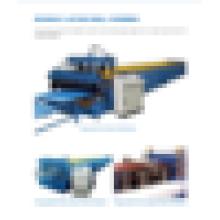 Farbe Stahldach / Wandpaneel unterschiedliches Profil Doppelschichtaufbau Rollenformmaschine