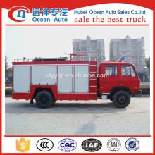 Dongfeng 4X2 5000Liters de control remoto de camiones de bomberos