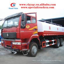 Camión cisterna del agua de SINOTRUK 6X4 20cbm 20000 litros para la venta