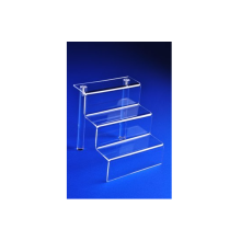 Clear Acrylic Stair 3-Step Display Holder