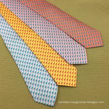 100% Silk Handmade Custom Digital Print Tie