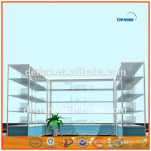 Shanghai OEM attractive fashion accessories display stand commercial display stand glass display cabinet instock