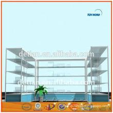 Шанхай привлекательной ОЕМ модные аксессуары дисплей стенд рекламный дисплей стенд стеклянный шкаф дисплея Наличие На складе