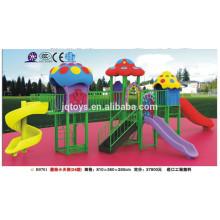 B0701 Hotsale Children Outdoor Plastic mushroom theme Playground Set