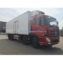 Dongfeng 8x4 food mobile refrigerador refrigerador van truck