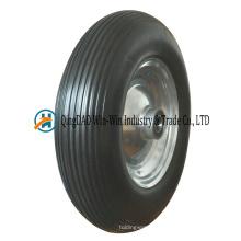 16 * 4.80 / 4.00-8 pneu de plat de roue de chariot de brouette de roue de mousse d'unité centrale