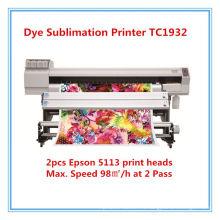 Imprimante textile grand format pour l'impression par sublimation
