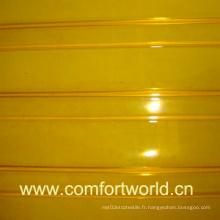 Rideau de porte en PVC jaune (SHPV00750)