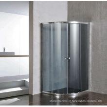Tela de vidro simples de vidro cinza sem bandeja (E-01Cinza)