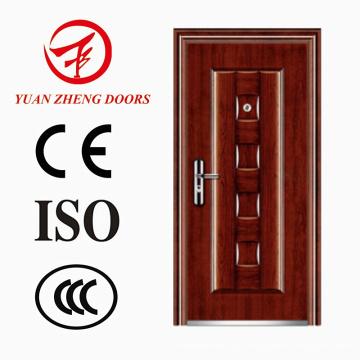 China-Tür-Fabrik-Sicherheits-Metalltür mit guter Qualität