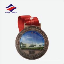 Presentes de lembranças de imitação antiga medalha de esportes de metal