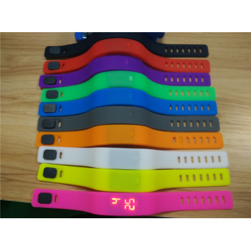 Custom Silicone Colorful Wristband Dijual