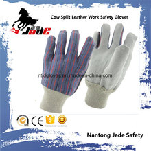 Luva de trabalho de segurança de mão Industrial de pele de vaca mais barata
