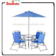 Günstige Esstisch und Stuhl, 6er Essset, günstige Tisch 4 Stühle umreblla Set