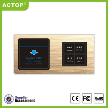 Smart hotel RCU Switch novo design actop 2018