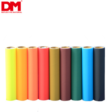 high visibility en20471 breathable high light outdoor black retro reflective cloth fluorescent spandex polyester fabrics