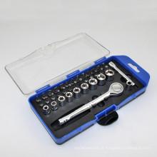 Multi Fuctional conjunto de soquete e driver bits conjunto de ferramentas de mão