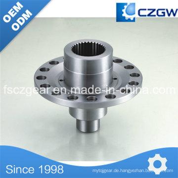 Hochpräzise Kundenspezifische Getriebeteile Flansch für verschiedene Maschinen