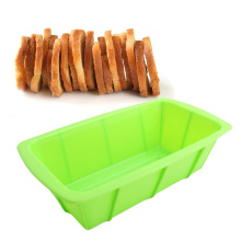 Silicone Rectangle Shape Toast Mould Silicone Pan Silicone Mold