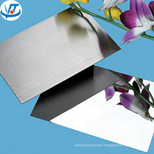 4mm thick mirror polished stainless steel 304 sheet / plate