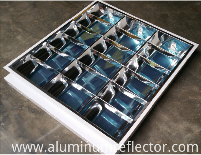 aluminum light reflector
