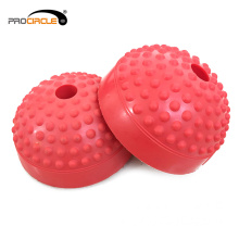 Yoga Soft Spiky Balance Pod Halbe Hand Massage Ball