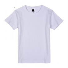 100% Cotton White Sublimation Tshirt for Custom Printing