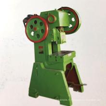 Ouvert retour c type mécanique tôle d'acier presse poinçonneuse